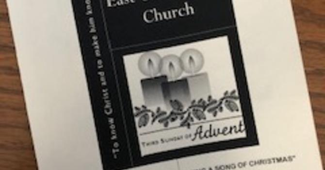 December 15, 2019 Church Bulletin image