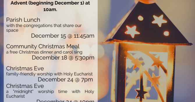 Advent and Christmas at St Stephen