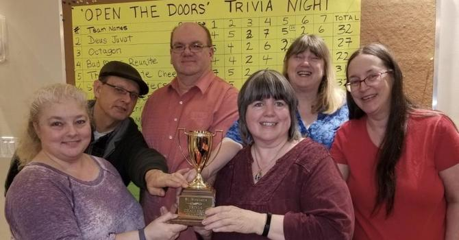 Trivia Night Winners! image