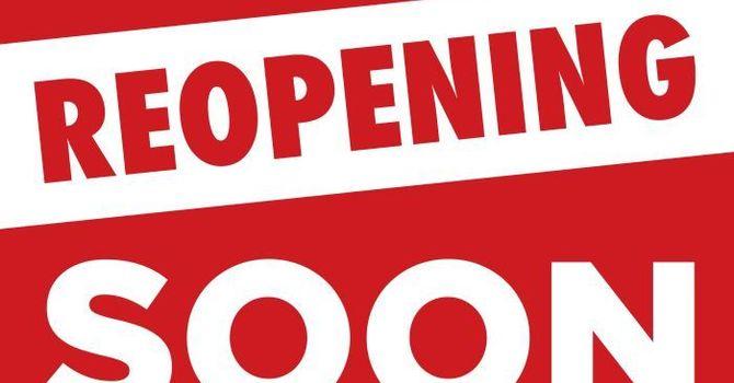 Reopening: Volunteers Needed image