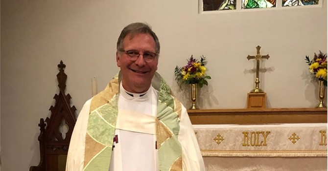 The Ven. Douglas Richards appointed Associate Incumbent and Vicar image