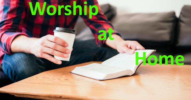 Worship at Home image
