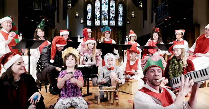 """CCC Choir and Friends Sing """"O Tannenbaum"""""""