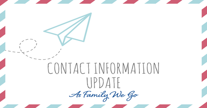 Contact Information Update image