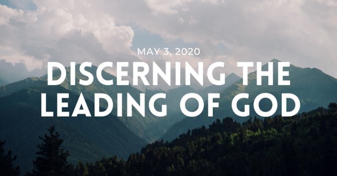 Discerning the Leading of God