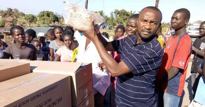 Soup Mix arrives in Mozambique