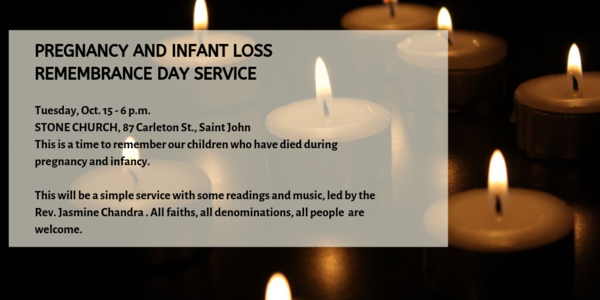 PREGNANCY AND INFANT LOSS REMEMBRANCE SERVICE