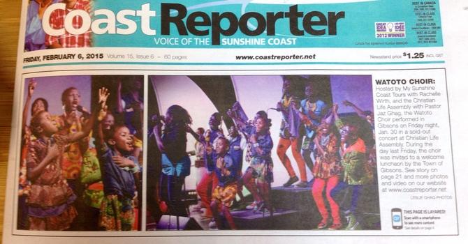 Coast Reporter Watoto Story image