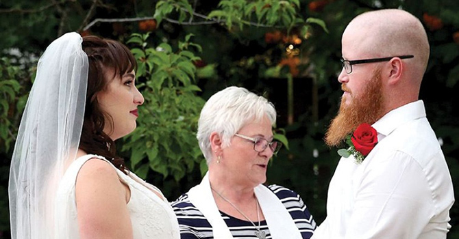 AMAZING GRACE - Another Evacuee Wedding in Prince George image