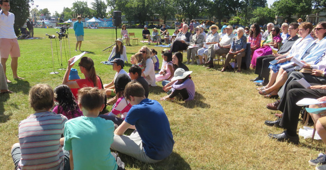 Ecumenical Worship in the Park image