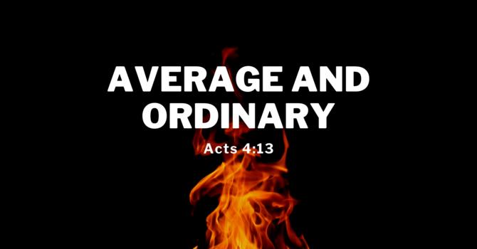2 Average and Ordinary
