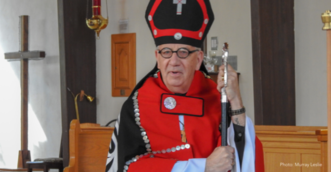 Bishop Logan Tenders Resignation. Logan McMenamie will retire effective May 1, 2020. image