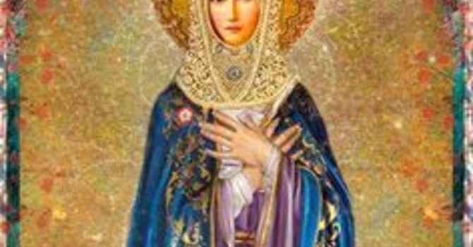 Reflection: Mary the Vigin image