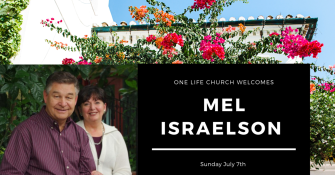 Guest Speaker- Mel Israelson