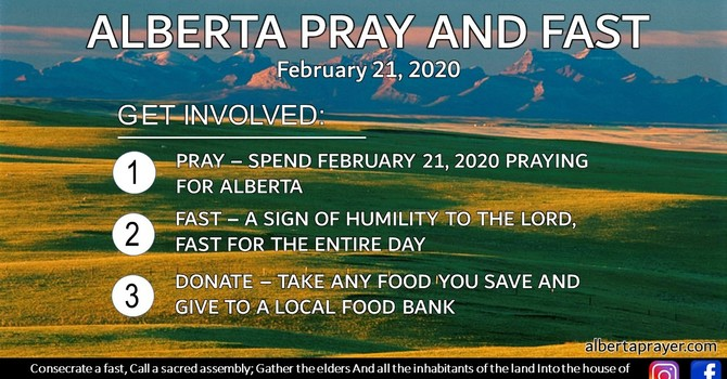Alberta Pray and Fast