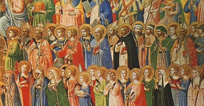 Prayer: Hope with All the Saints image
