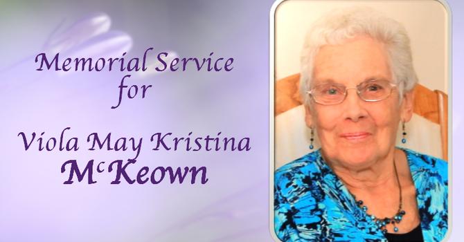 Memorial Service for Viola McKeown image