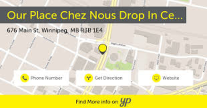 Chez-Nous/Our Place Drop In image