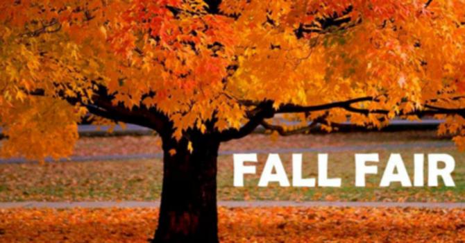 Fall Fair & Vintage Market - September 22, 2018 image