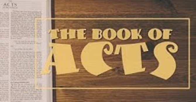 Acts 5 - Was it really that bad!