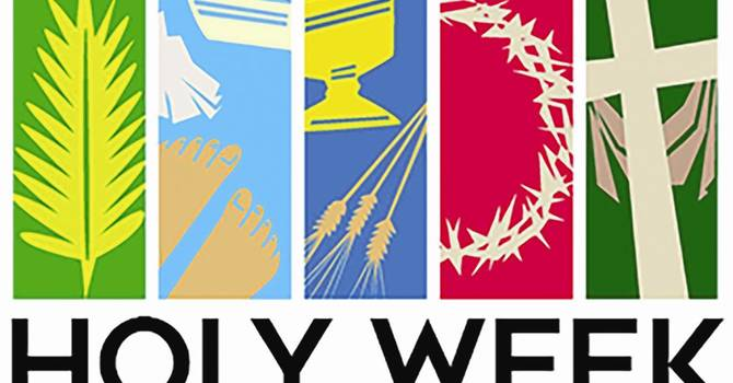 Kids and Holy Week image