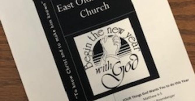 January 5, 2020 Church Bulletin image