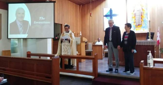 ODNW Investiture at St. Michael's, Surrey image