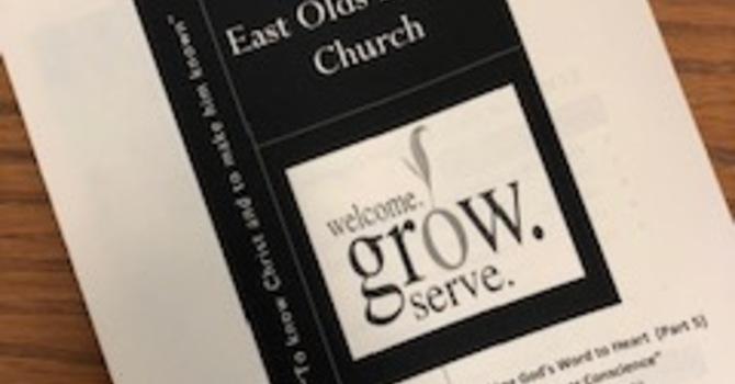 September 1, 2019 Church Bulletin image