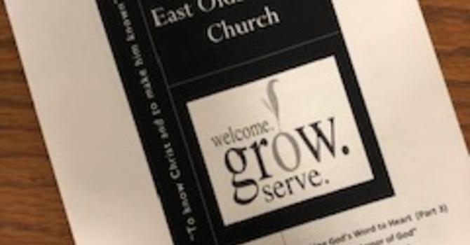 August 18, 2019 Church Bulletin image