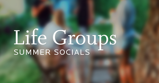 Life Group Summer Socials image
