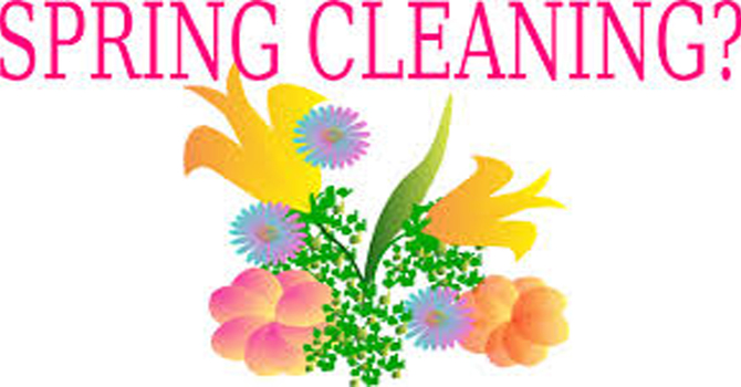 Spring Cleaning at the Church. image