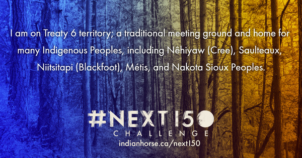 Join the #Next150 Challenge