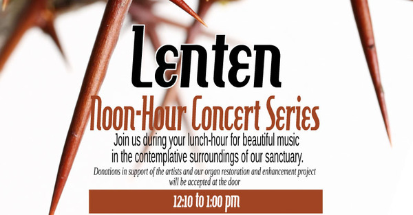 Holy Trinity Anglican Church Lenten Events
