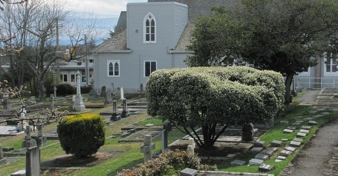 St. Luke's Cemetery  is Lovely in the Spring image
