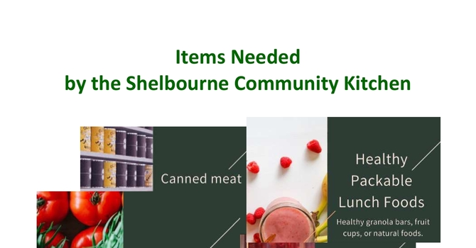 Support for the Shelbourne Community Kitchen in February and March image