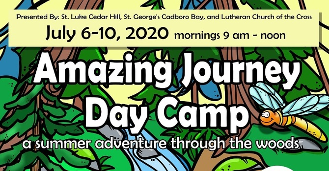 Save the Dates - The Amazing Journey Day Camp 2020 image
