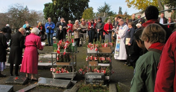 Service of Remembrance Appreciated by Veterans' Families image