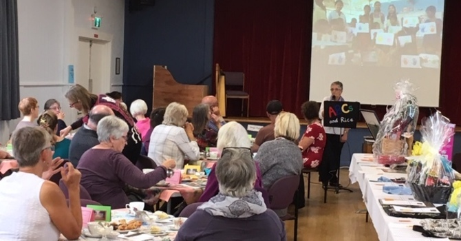 Rice for a Year Tea and Silent Auction  2019 - Successful Again! image