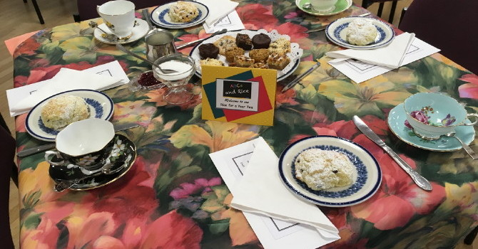 Rice for a Year Tea and Silent Auction - A Huge Success image