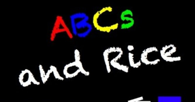 Thank You St. Luke's from ABCs and Rice image
