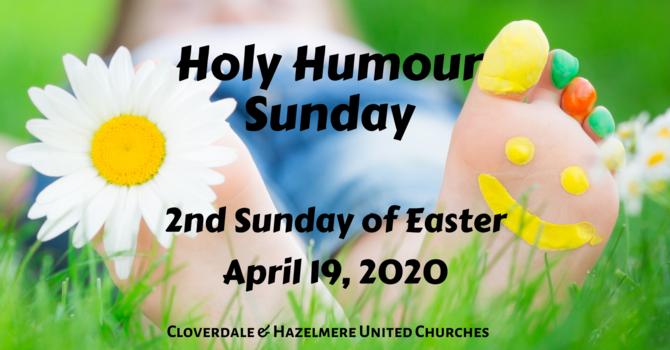 April 19, 2020 Worship Service image