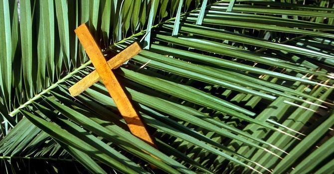 Palm Sunday April 5th 2020 Online Service image