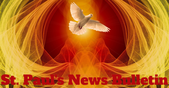 St. Paul's June 9th  News Bulletin image