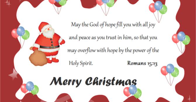 Merry Christmas Beulah Family! image
