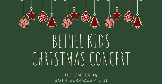 Bethel Kids Christmas Concert