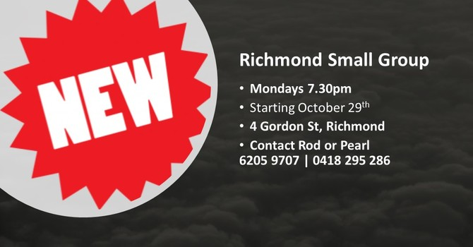 New Richmond Small Group image