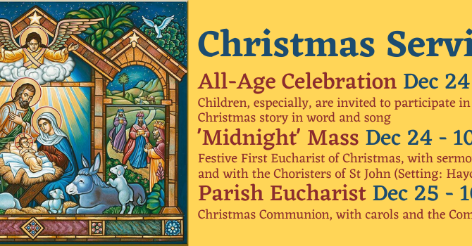 Advent and Christmas at St John's image