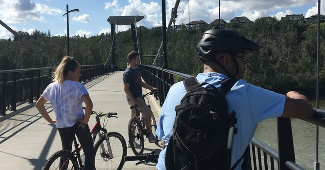 Annual Edmonton Bike Ride - Young Adults