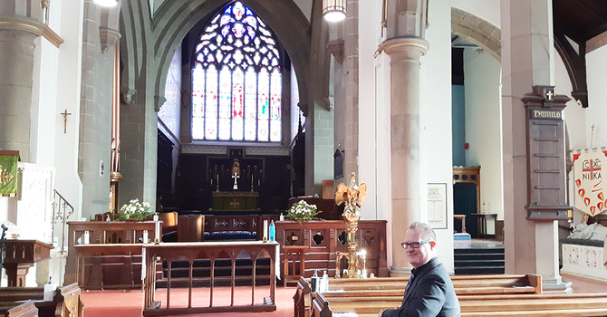 Cathedral welcomes new music director image