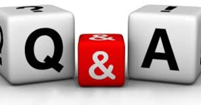 QUESTION & ANSWERS